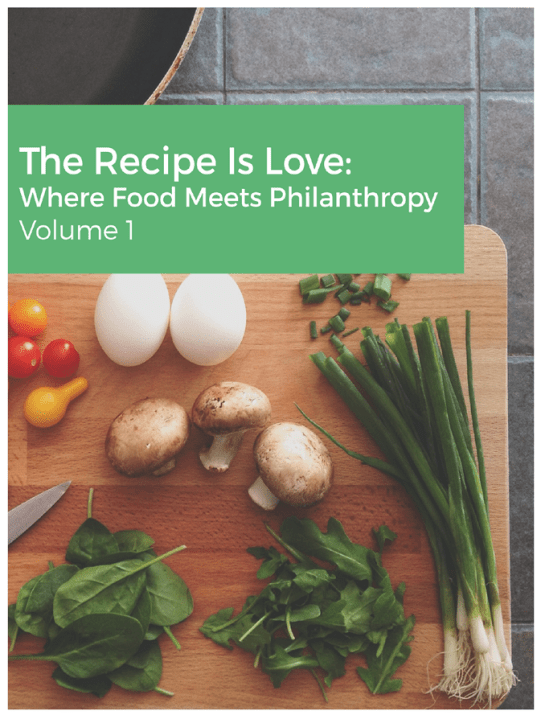 Free recipe ebook from Goods Giving Back