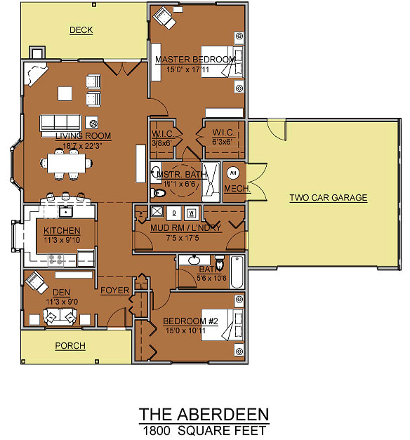 aberdeen cottage assisted living floorplan good shepherd endwell - Good Shepherd Village at Endwell
