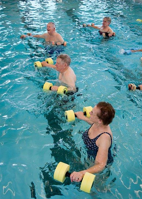 good shepherd communities assisted living retirement binghamton water aerobics - Good Shepherd Village at Endwell