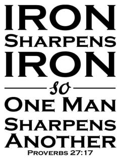 Community Life: Iron Sharpens Iron