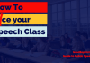 How to Ace your speech class. Goodsophist.com guide to public speaking