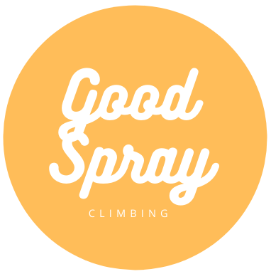 good spray climbing logo