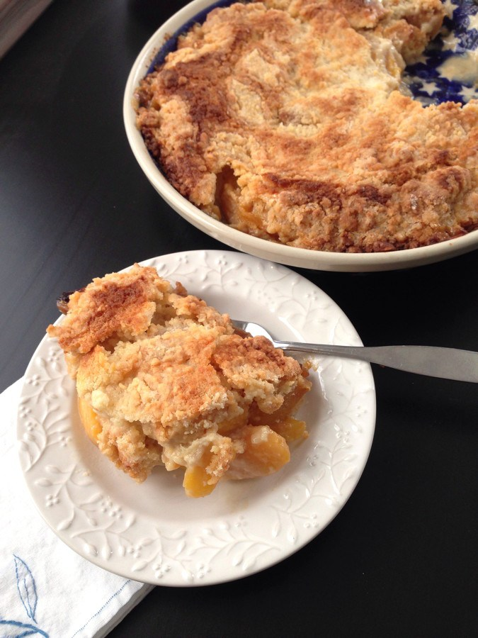 Winter Peach Cobbler | www.goodstuff.recipes