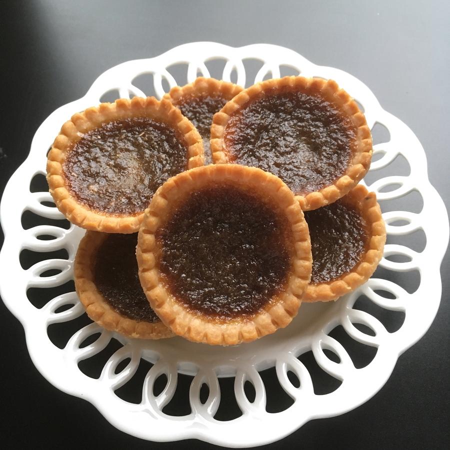 quick maple tarts