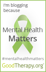 I'm blogging because Mental Health Matters