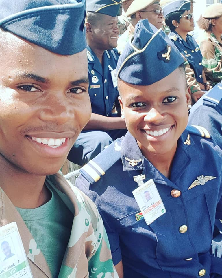Meet the world's first Black African female fighter pilot from South Africa! Mandisa Mfeka