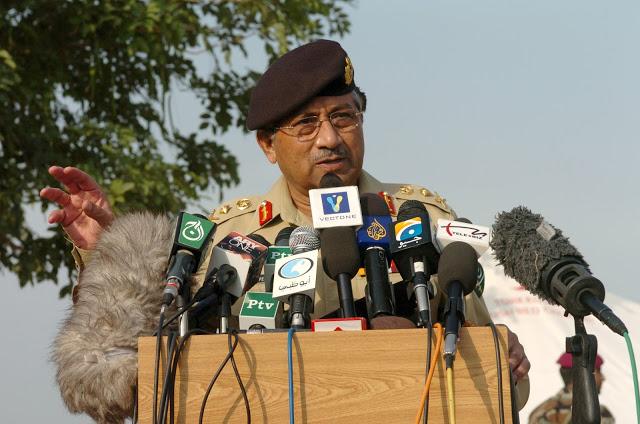 Nukes not built to fire on Shab-e-Baraat: Musharraf