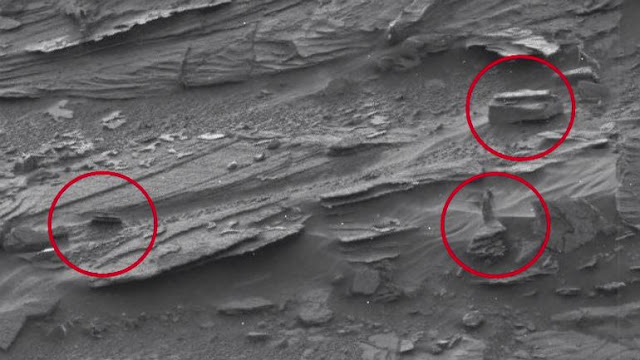 Shocking Image from Mars; Can You Spot a Woman in This Pic?