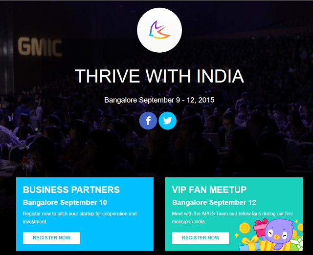 Meet APUS Group Leading Startup at GMIC, Bangalore