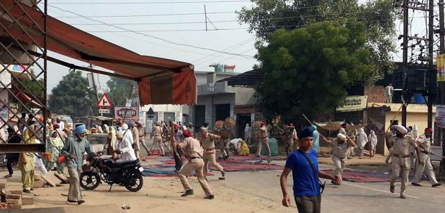 Protests in Punjab over Torn Pages of Guru Granth Sahib