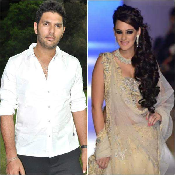 Yuvraj Singh Gets Engaged to Actress Hazel Keech