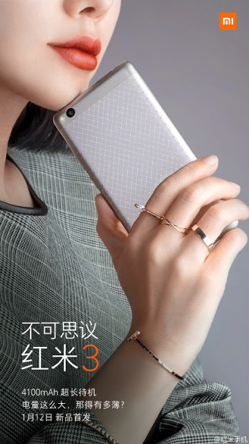 Xiaomi Redmi 3 launched: an all new look with the metal body & improved features