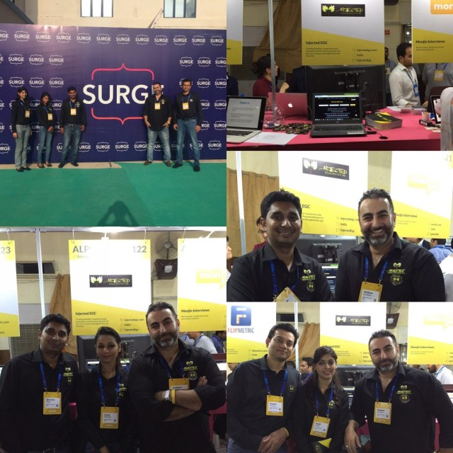 Team Injected EGC at Surge Conference
