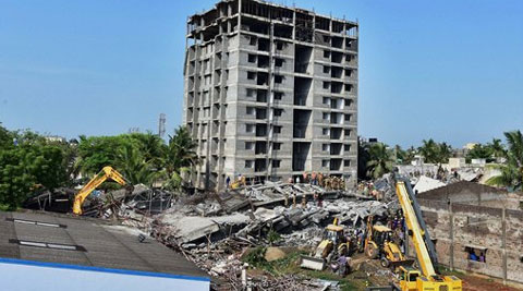 Chennai's Moulivakkam building breakdown: Another tower to be pulverized today