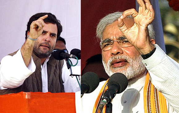 Rahul Gandhi and Narendra Modi will be Campaigning in Lakhimpur Kheri Today