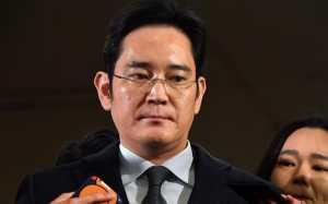Samsung Chief LEE Arrest Under Corruption Charges