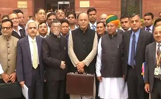 India Budget 2017 Live: Finance Minister Arun Jaitley Presented the Budget to Parliament