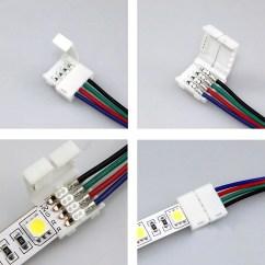5050 Led Strip Wiring Diagram Rikki Tikki Tavi Plot Wow 3528 Rgb Adapter Cable Pcb Light