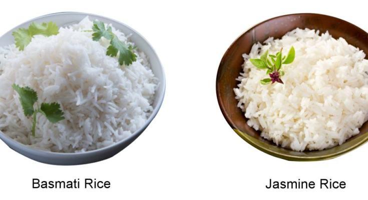 Jasmine And Basmati Rice
