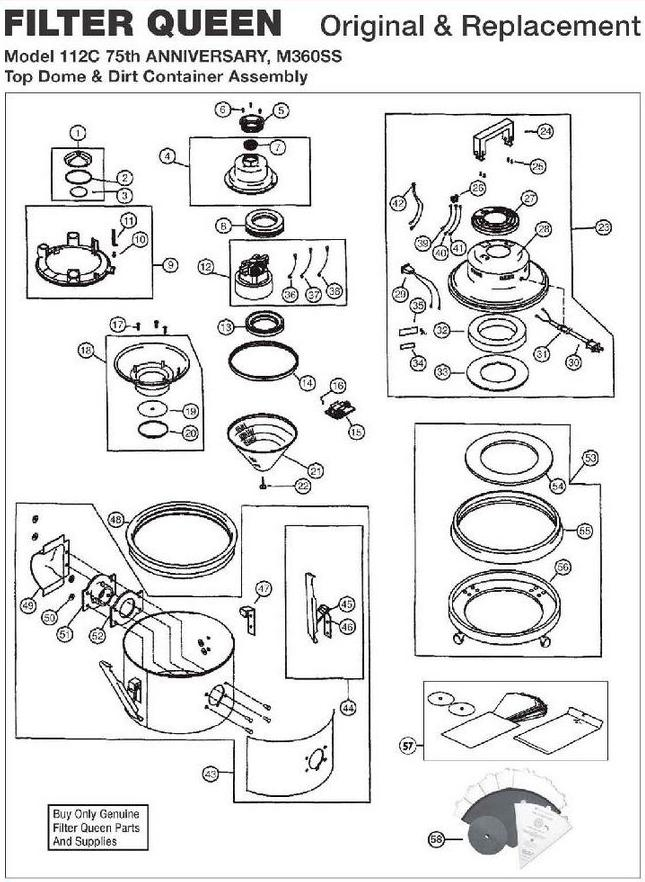 Wiring Diagram Filter Queen Vacuum