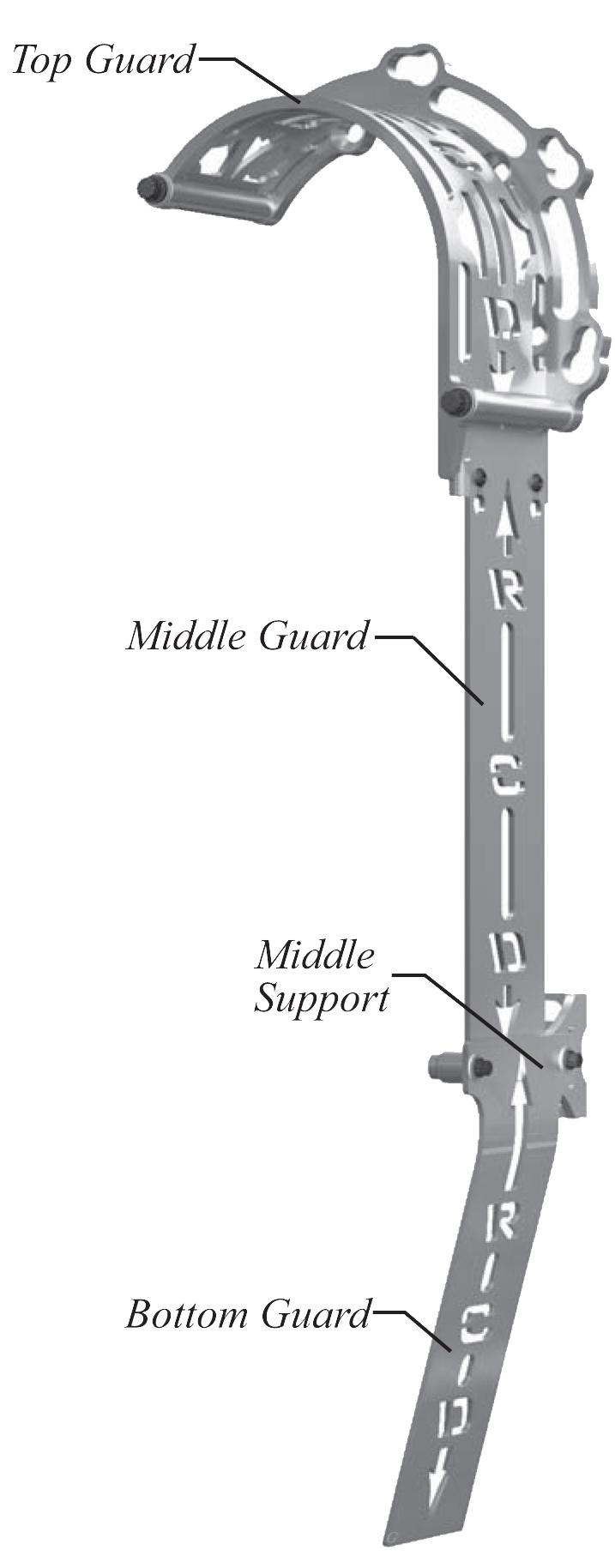 Blower Belt Guards Parts Breakdown