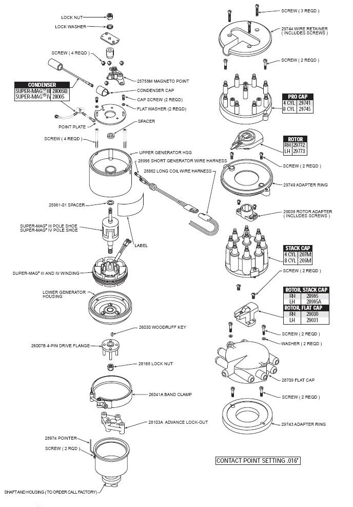 mallory mag wiring diagram distributor hyfire