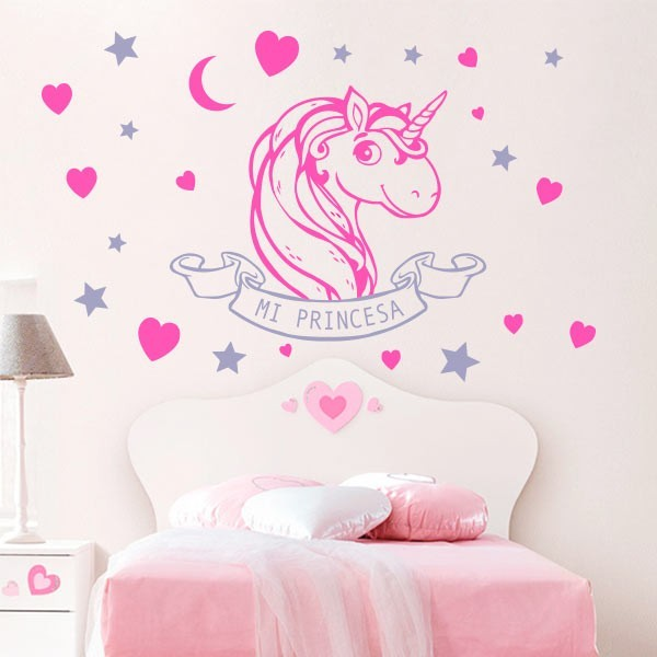 Vinilo Unicornio  Adhesivo decorativo de pared