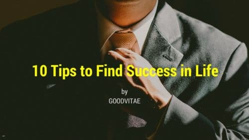 10 tips to find success in life