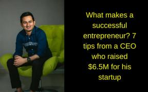 What makes a successful entrepreneur?