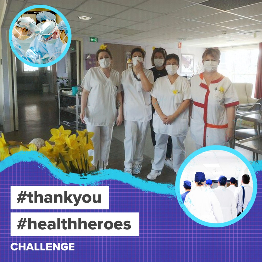 Thank You to Health Heroes challenge