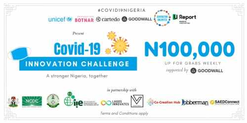 Unicef Covid-19 Youth Challenge Nigeria award