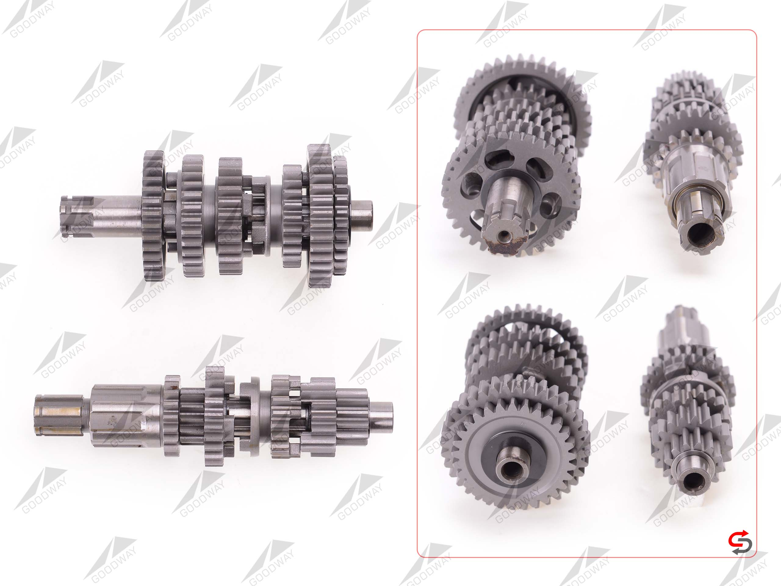 COMPLETE GEARBOX A02721