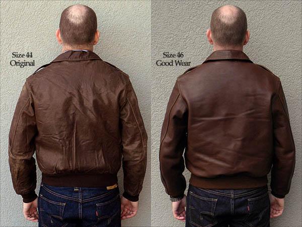 Good Wear Leather Coat Company  Poughkeepsie Type A2 Jacket Flight Jacket