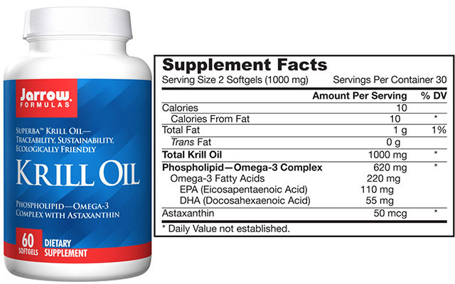 Epa and dha krill oil good whole food for Is krill oil better than fish oil