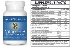 vitamin B adrenal complex, Folinic acid