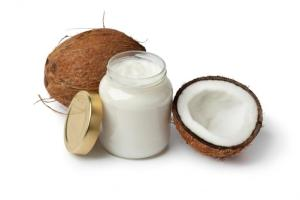 using coconut oil on hair - coconut oil