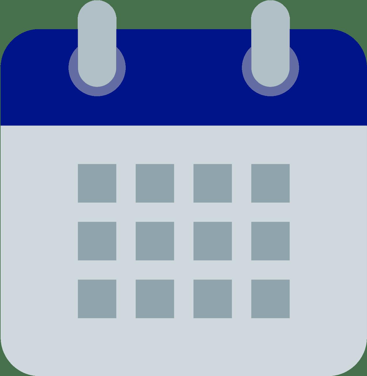 Class Calendar Icon