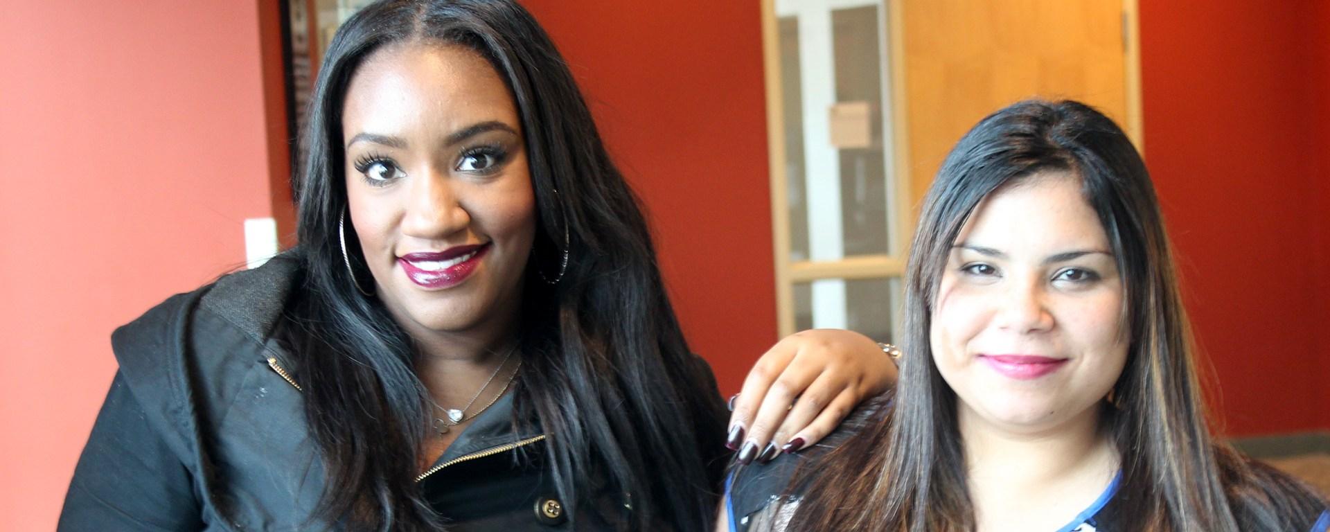 Veronica Vioude and Yamilette Rosado