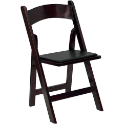 Folding Chairs For Rent Round Base Chair Seating Rental Benches Stools Goodwin Events Mahogany Georgia