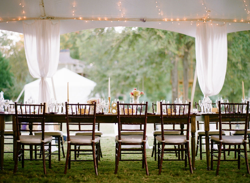 farmhouse tables and chairs small round table rent farm | goodwin events