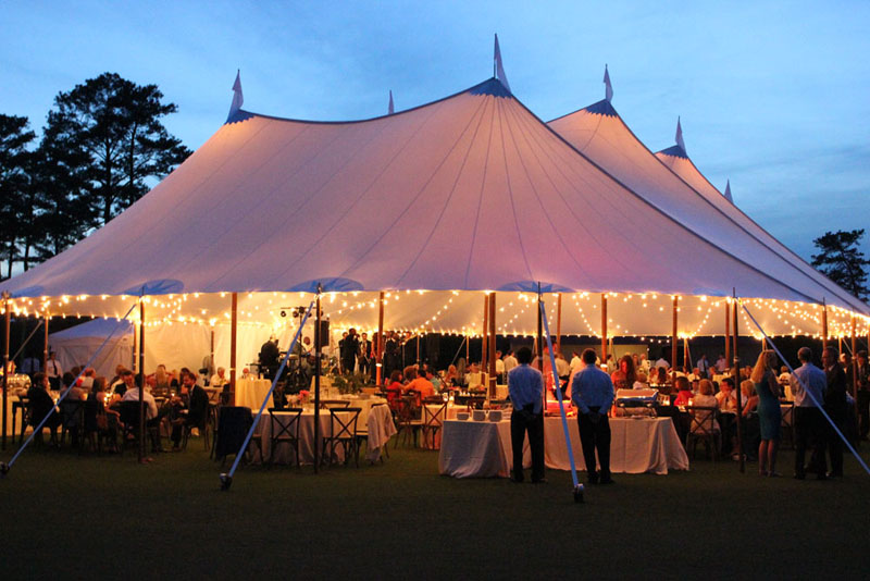 Sailcloth Tent Rental Georgia  Atlanta Sailcloth Tent  Luxury Events  Goodwin Events