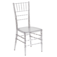 Ghost Chair Bar Stool Cheap Table And 2 Chairs Crystal Ice Chiavari - Clear For Rent