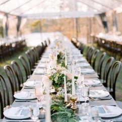 Wedding Tables And Chairs For Rent Suede Office Chair Goodwin Events Highly Published Event Tent Rental Winter Sandy Creek Barn Lake Oconee