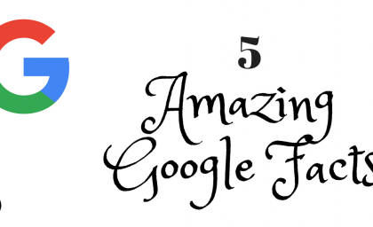 5 Amazing Google Facts