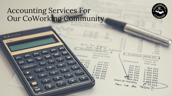 accounting services for coworking community