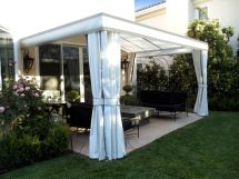 Outdoor Patio Shades and Curtains