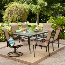 Patio Dining Sets Offer Classy Al Fresco Dinner