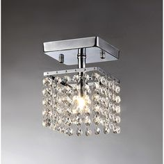 Small Chandeliers This Is A Chandelier With Clear Dangling Crystals Perfect