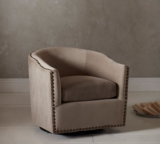 swivel chairs living room with dining table designs purchasing for the goodworksfurniture pottery barnu0027s armchairs and accent are