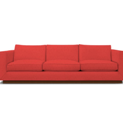 Cindy Crawford Sleeper Sofa Queen Size Slipcover The Amazing Red – Goodworksfurniture